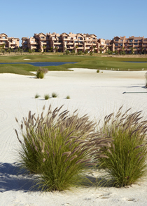 Mar Menor Residences and golf course