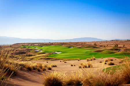 Alhama Signature Golf is a desert course with esparto grass in the rough
