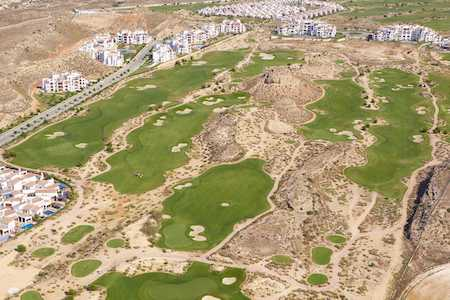 El Valle Golf Resort from the air