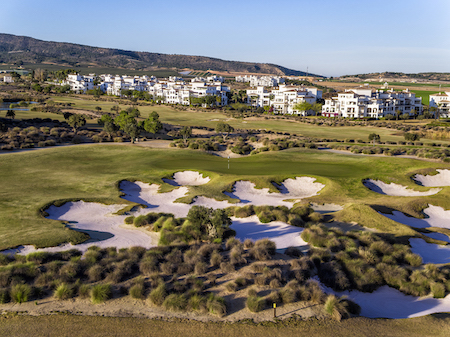 Beautiful view of Hacienda Riquelme Golf Course