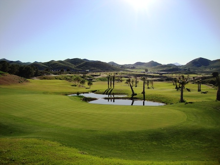 Tranquil view of Lorca Golf Course