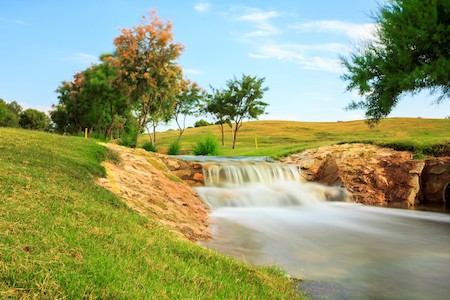 Waterfall on Lo Romero Golf