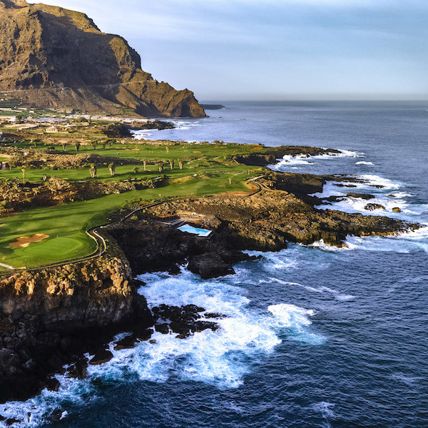 Amazing coastline of Buenavista Golf, Tenerife