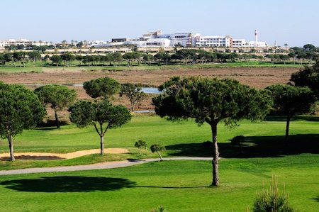 View from the third hole on El Rompido South Course