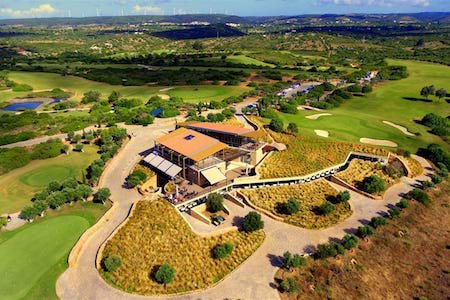 Aerial view of Espiche Golf