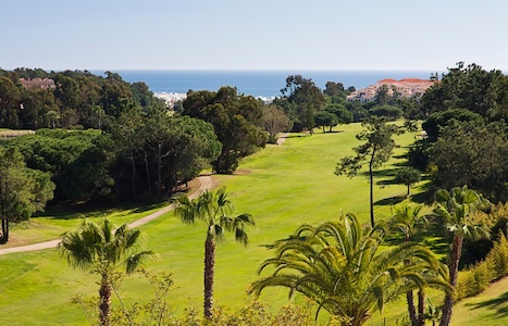 Beautiful sea view from Islantilla Golf