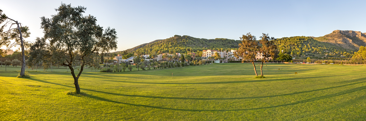 Panoramic view of La Sella Golf