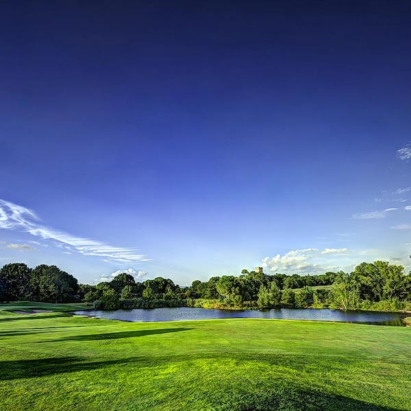 Beautiful view of Marco Simone Golf Course, Rome