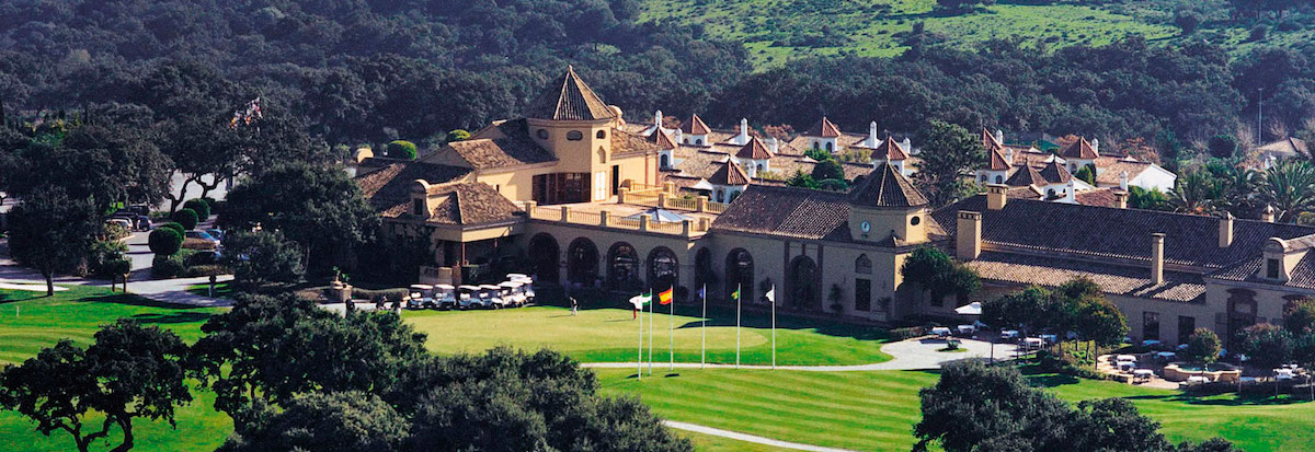 San Roque Golf clubhouse