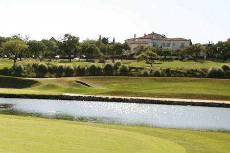 San Roque New Course with the clubhouse in the background