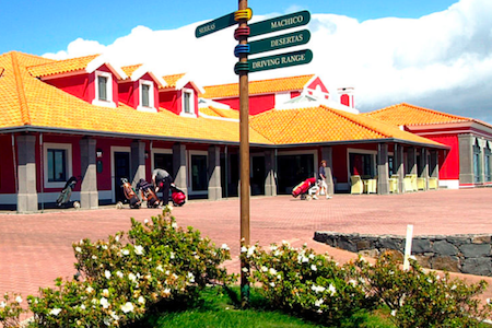 Clubhouse at Santo da Serra Golf Club