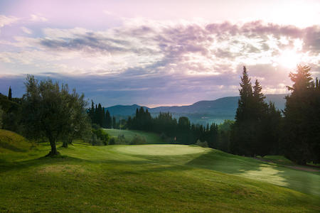 The 5th hole at Ugolino Golf