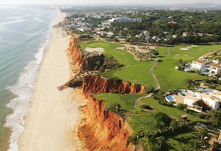 The famous 16th hole on Vale do Lobo Royal Course