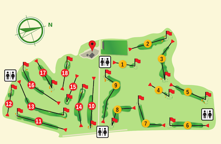Vall d'Or Golf Course Plan