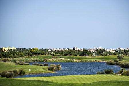 Views of Vilamoura from Victoria Course