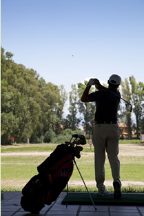 Driving Range at Parador de Malaga Golf
